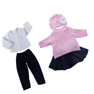 Clothes For 18'' AG American Doll Dolls Dress Hat Outfits Jacket Sweater Skirts