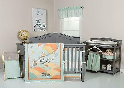 Trend Lab Dr. Seuss Oh, The Places You'll Go Nursery Crib Bedding 5 6 7 8 PC Set