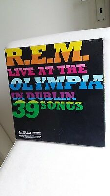 R.E.M. limited original Vinyl BOX 4LP 2CD DVD Live At The Lympia Dublin (2009)