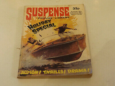 SUSPENSE PICTURE LIBRARY,HOL SP,1979 ISSUE,V GOOD FOR AGE,40 yrs old,RARE COMIC.