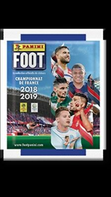 LOT 85 Stickers FOOT LIGUE 2018 2019 images PANINI PSG OL OM NEUF