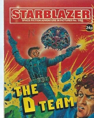 The D Team,starblazer Space Fiction Adventure In Pictures,comic,no.162