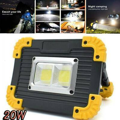 30W emergency searchlight LED work light USB rechargeable outdoor camping light