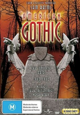 American Gothic - The Complete Series (DVD, 2012, 6-Disc Set) BRAND NEW SEALED