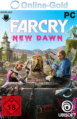 Far Cry New Dawn Key - Uplay Ubisoft Download Code - PC Standard Version NEU EU