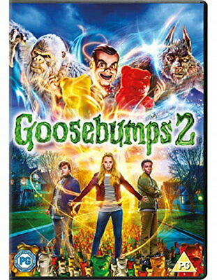 Goosebumps 2 [DVD] [2018] [New DVD]