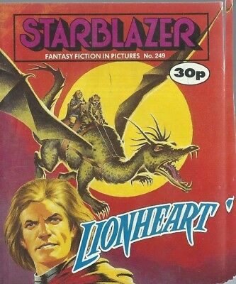 Lionheart,starblazer Fantasy Fiction In Pictures,comic,no.249