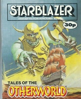 Tales Of The Otherworld,starblazer Fantasy Fiction In Pictures,comic,no.248