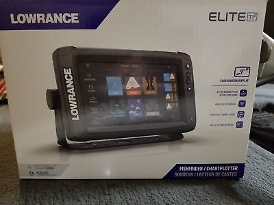 New Lowrance Elite 9 Ti2 Active Imaging 3-In-1 GPS Fish Finder 000-14652-001