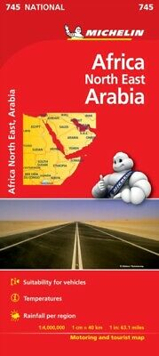 Africa North East, Arabia NATIONAL Map (Michelin National Maps) (...