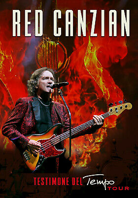 dvd musicale Canzian Red TESTIMONE DEL TEMPO TOUR LIMITED EDIT.