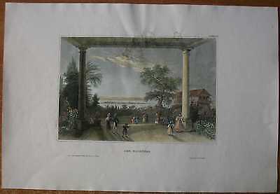 1839 Meyer print LAKE CONSTANCE NEAR KONSTANZ, BADEN-WÜRTTEMBERG, GERMANY (#2)