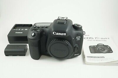 Canon EOS 7D Mark II 20.2MP Digital Camera Body MINT CONDITION