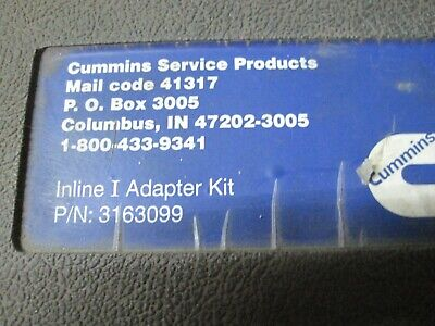 Cummins Inline  Data Link Adapter Kit with Case & Cables   AA913