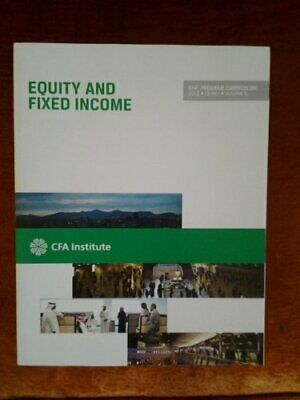2013 CFA Program Curriculum Level 1 Volume 5-equity and Fixed Income