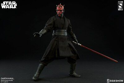 Sideshow Collectibles Star Wars Darth Maul Figure 1/6 Scale Naboo Exclusive