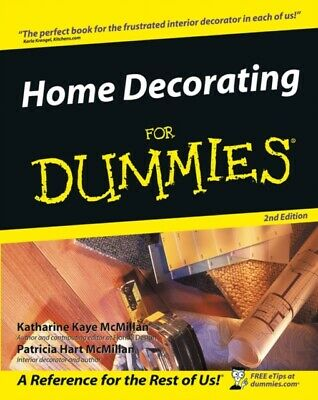 Home Decorating for Dummies (General Trade) (Paperback), McMillan...