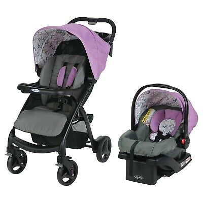 Graco Verb Click Connect Travel System - Perry - New! Free Shipping!