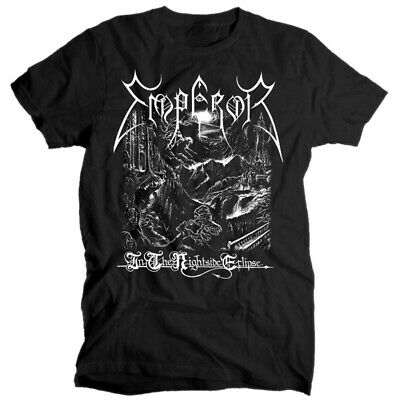 EMPEROR In the Nightside Eclipse BLACK T SHIRT cotton all sizes S-5XL