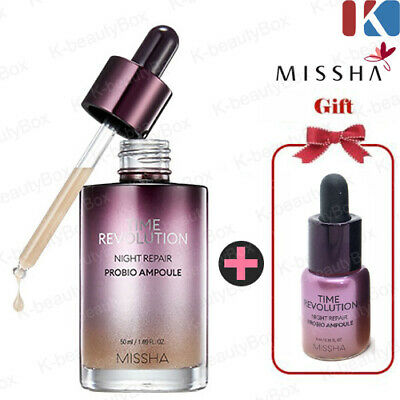 MISSHA Time Revolution Night Repair Probio Ampoule / Intensive Firming ampoule
