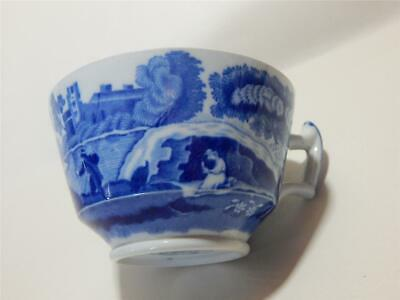 Copeland Spode Italian Blue and White Teacup. Made in England.