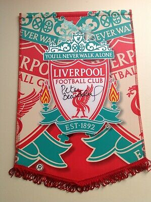 Liverpool Legend - Peter Beardsley - Signed Pennant with COA