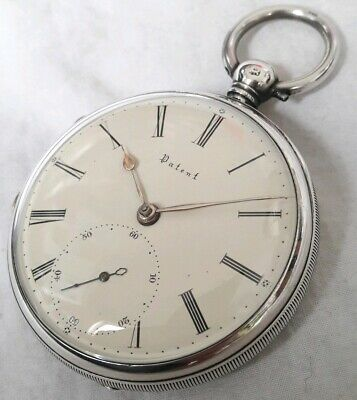 Fusee Pocket watch ! Liverpool window *PATENT* (FULL WORKING ORDER). *1856*