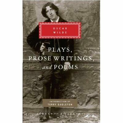 Plays, Prose Writings and Poems (Everyman's Library (Cloth)) Oscar Wilde