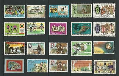 y8021 Ghana / A Small Collection Early & Modern Lhm & Used