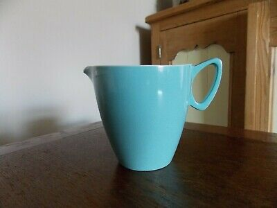 Collectable Vintage Retro 1960s Gaydon Melamine Melmex Blue Milk Jug.