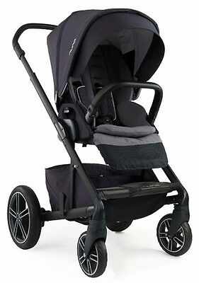 Nuna Baby Mixx2 Forward Rear Facing Single Stroller Jett w Rain Cover Mixx 2 NEW