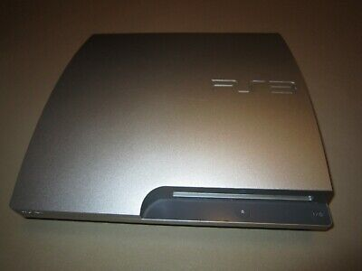 Sony PlayStation 3 Slim 320GB Satin Silver Console **Console Only** CECH-3003B