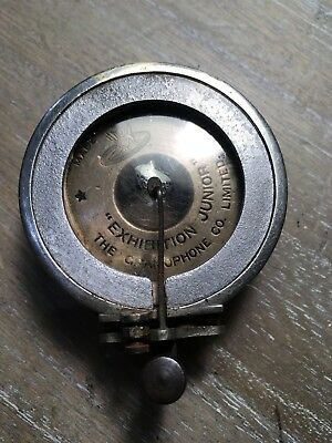 Early Gramophone Co Exhibition Junior  Sound-Box  In Good Condition