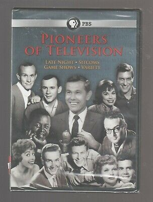 Pbs Pioneers Of Television Late Night Sitcoms Game Shows Variety Dvd New