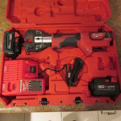 Milwaukee 2672-20 Force Logic Cable Cutter Charger and Batteries (See Details)