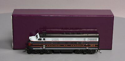 Division Point HO BRASS Central of Georgia F-3 A Unit Diesel #904 LN/Box