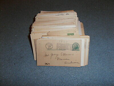 Us Postal Card Collection, Early 1900's On, Over 250 Cards