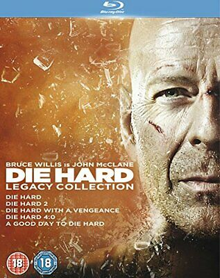 Die Hard: Legacy Collection (Films 1-5) [Blu-ray] [1988] - DVD  YCVG The Cheap