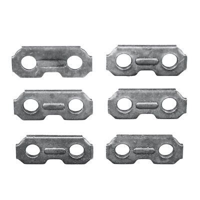 6 Pcs Set Chainsaw Chain Joiners Links For JOINING Chain Accessories Parts 2019