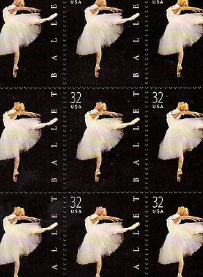 1998 - AMERICAN BALLET - #3237 Full Mint -MNH- Sheet of 20 Postage Stamps