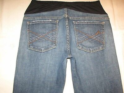 Citizens of Humanity Maternity Bootcut Jeans Sz 31 Distressed Naomi w Stretch
