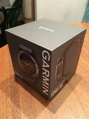 Garmin Fenix 5x Sapphire Edition Ultimate Multisport GPS Watch with Mapping