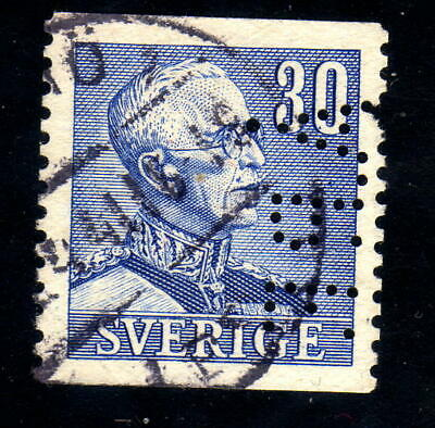 Sweden stamp Facit # 279 with perfin Å.P.F.