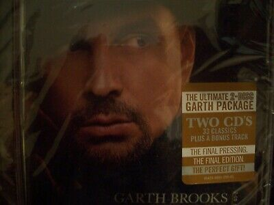 The Ultimate Hits by Garth Brooks (CD,Sep-2016,2 Disc Brand New Sealed!
