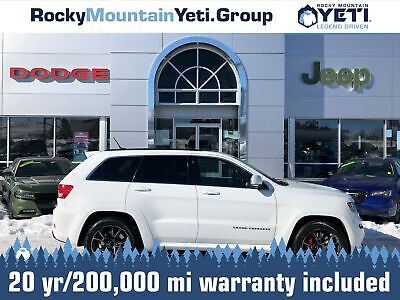 2013 Grand Cherokee SRT8 2013 Jeep Grand Cherokee, Bright White with 95,730 Miles available now!