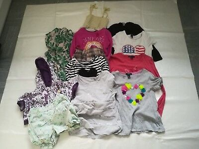 Girls Clothes Bundle 6-7 Years Job Lot - 12 ITEMS - Tops Skirts Playsuit - GAP