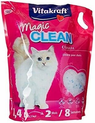 Vitakraft 15526 Litière Magic Clean 8 Semaines pour chat 8,4L