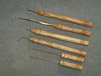 Lacemaking Lace Bobbins All-The-Tools-You-Need Oak Set