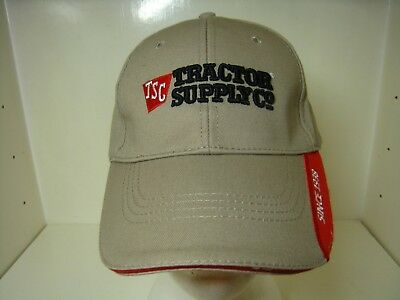 TRACTOR SUPPLY CO Hat Cap OSFA Adjustable 100% Cotton Brand New TSC ... 36f098d049b2