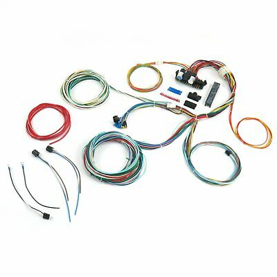 Swell Ez Wire 12 Circuit Universal Street Hot Rod Truck Car Wiring Harness Wiring Cloud Hisonuggs Outletorg